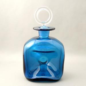 フタリング瓶ブルー前