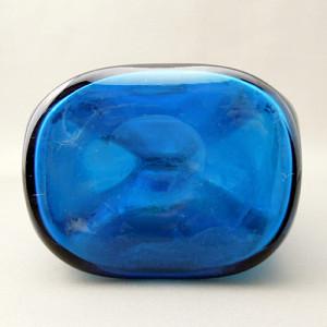 フタリング瓶ブルー底